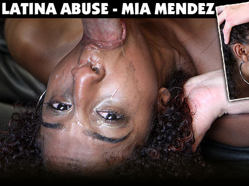 Latina Abuse Destroys Mia Mendez